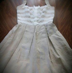 FIT N FLARE HALTER DRESS